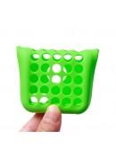 Carcasa protectie spate din silicon pentru Iphone 5C - verde